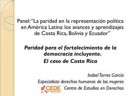 "I Congreso Internacional Universitario ""Género,"