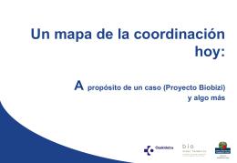 coordinacion sanitaria y Biobizi