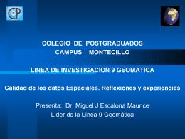 Información general del proyecto de investigación