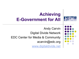 Digital Divide Network