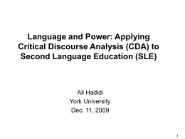 Language Related Episodes in an Assessment