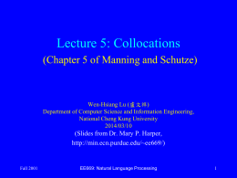 EE669 Lecture 6 -