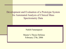 Formative Evaluation of a Prototype System for