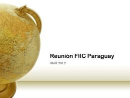 Reunión FIC Paraguay