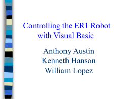 Robotics and Visual Basic