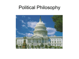 Political Philosophy - MDC Faculty Home Pages