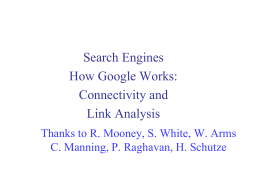 link analysis google
