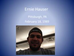 Ernie Hauser