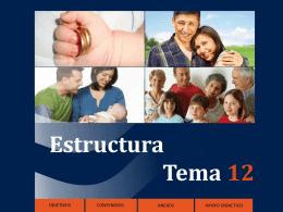 Estructura Tema 12 - Formación en la Fe
