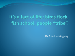 Anne Hemingway Presentation