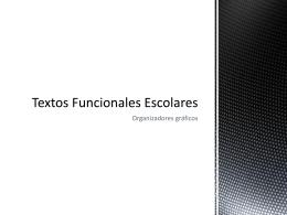 Clasificación de los textos funcionales