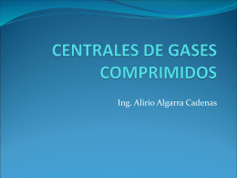 CENTRALES DE GASES COMPRIMIDOS
