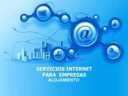 SERVICIOS INTERNET PARA EMPRESAS
