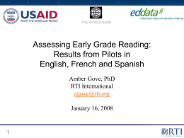 RTI ppt template - EdData Homepage
