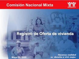 Formato INFONAVIT 2005
