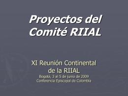 XI Reunión Continental de la RIIAL