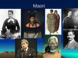 Maori Culture - Delmoral`s Blog