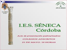 Diapositiva 1 - I.E.S. Séneca