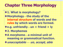 Lecture 1 Grammar