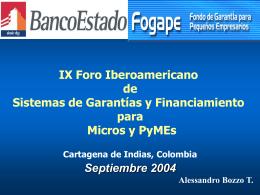 Presentación Comité Ejecutivo Junio, 2003