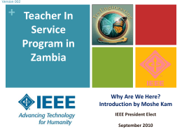 TISP in Zambia