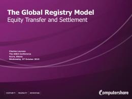 Global Transaction Unit
