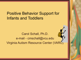 Strategies to Address Behavior at Home and School
