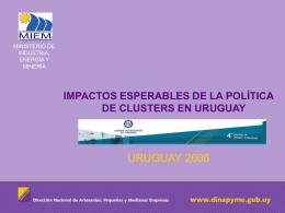 Diapositiva 1 - Cámara de Industrias del Uruguay