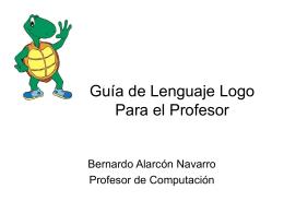 Guía de Lenguaje Logo Para el Profesor