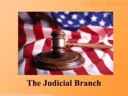 Judicial Branch - Nampa School District