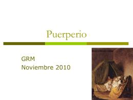 Puerperio - .: Grupo de Residentes Médicos:.
