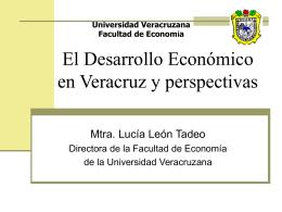El Crecimiento Económico En Veracruz
