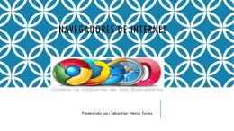 NAVEGADORES DE INTERNET - Tecnología e Informática