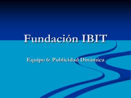 Fundación IBIT