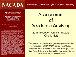 Assessment of Adv Topical