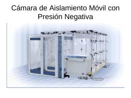 Cámara de Aislamiento Móvil con Presión Negativa