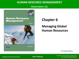 Human Resource Management 12e