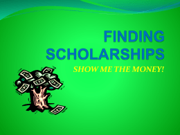 SCHOLARSHIPS - Peel District School Board