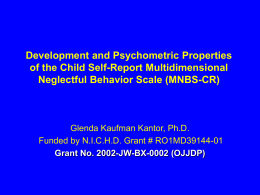 CAUSES AND ASSESSMENT OF CHILD NEGLECT IN