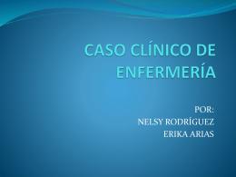 CASO CLÍNICO DE ENFERMERÍA