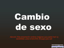 Cambio de sexo - Fotografia y lugares de interés
