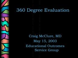 360 Degree Evaluation - Arizona Medical Education