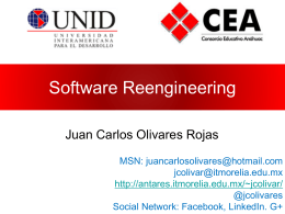 Reingeniería del Software