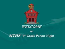 EWHS Parent Resource Night
