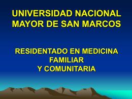 Diapositiva 1 - Atención Primaria en Salud – UNMSM