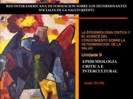 IV CONGRESO BRASILEÑO DE EPIDEMIOLOGIA