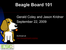 BeagleBoard101-esc-boston-2009b
