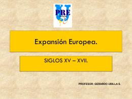 Expansión europea.
