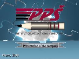 Snímek 1 - PPSINSTITUT