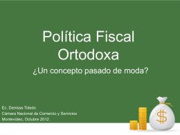 Diapositiva 1 - Academia Nacional de Economía